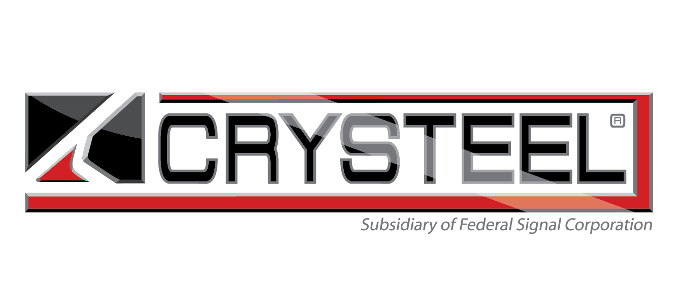 Crysteel logo FS 4C reflect